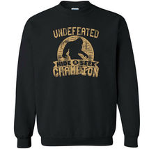 487 Undefeated Hide and Seek Champion Crew Sweatshirt sasquatch big foot new image 7