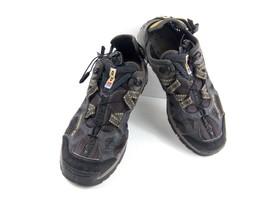 SALOMON Men's Sneakers Gray Black  Contagrip Hiking Trail YYS643001 Shoes Sz 9.5 - $59.22