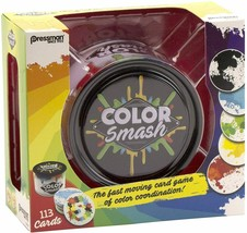 Pressman Color Smash - The Fast Moving Card Game of Color Coordination! - $12.86