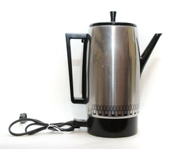 Vintage Empire Aluminum Automatic 12-Cup Percolator Coffee Pot Maker - $34.16