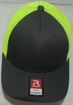 Richardson Trucker R Flex Meshback Fitted Baseball Cap 110 Large  Xlarge image 2