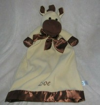 "Komet Creations Lovey Security Blanket Satin Heart Trim Giraffe Horse Pony 25"" - $49.49"