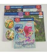 Lot of 6 Step into Reading Books  Sttep 1 & 3 Disney, Thomas Train, Paw Patrol - $18.69