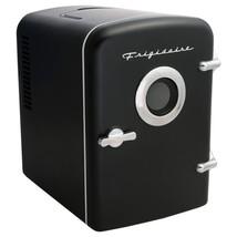 Frigidaire EFMIS151-BLACK 6-Can Retro Portable Beverage Refrigerator wit... - $65.93