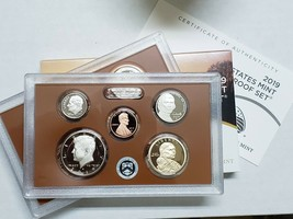 2019 S United States Mint Proof Set 10 Coin No Extra W Cent - QTY 50 BULK