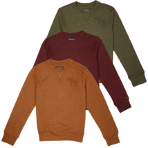 Tommy Hilfiger Kid's Heather TH Deluxe L/S T-Shirt - $14.57