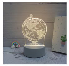 3D LED Lamp Creative Night Lights Novelty Night Lamp Table Lamp For Home 6 - $12.50