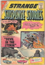 Strange Suspense Stories Comic Book #50 Charlton Comics 1960 VERY GOOD- - $22.17