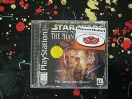 Star Wars Episode I The Phantom Menace PlayStation 1 PSX 1999 LucasArts Game - $22.75
