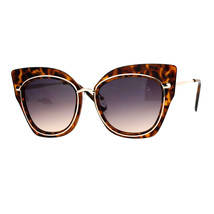 Oversized Womens Sunglasses Big Square Butterfly Double Frame UV 400 - $11.95