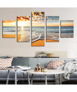 Art Oil Painting 5 Piece(No Frame) sea modern Picture - $48.99