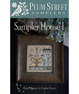 Sampler House I cross stitch chart Plum Street ... - $10.80