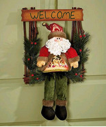 """21"""" Adorable LED Holiday Welcome Guests Greeter Santa - $30.88"""