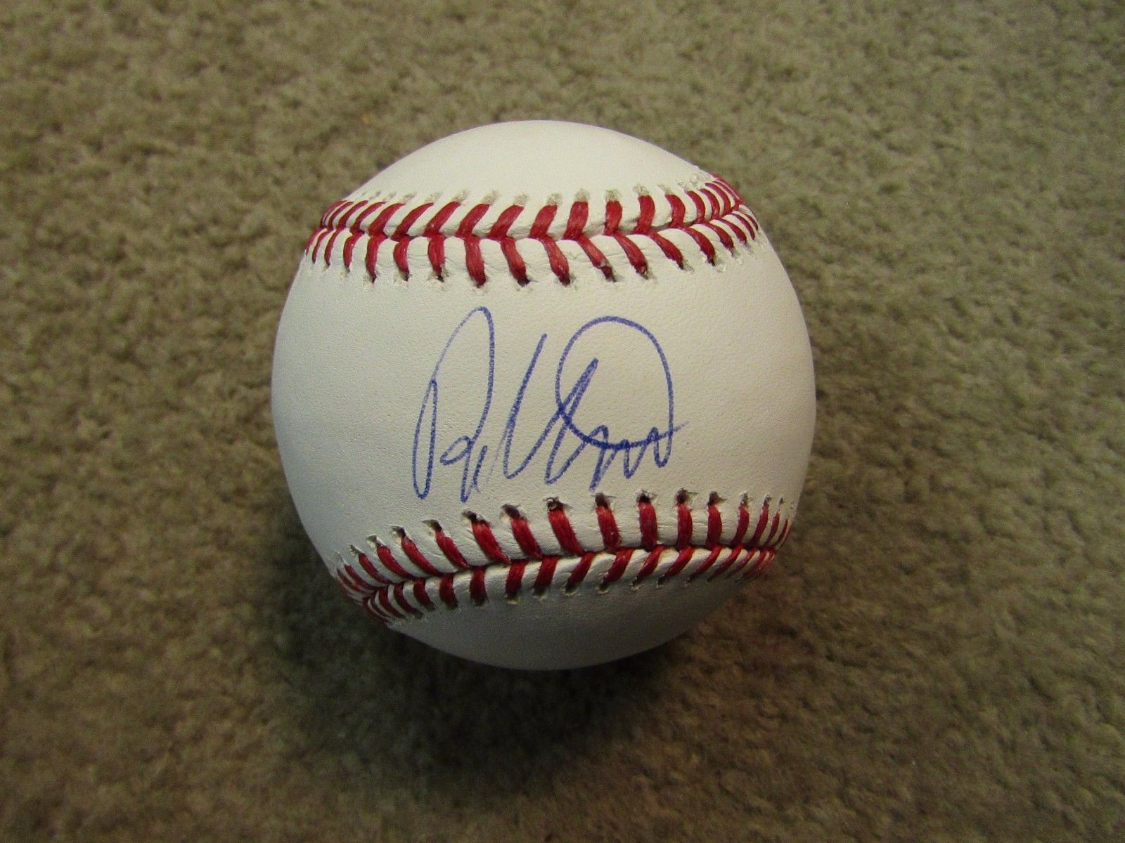 Primary image for ROBIN VENTURA AUTOGRAPHED SIGNED OML BASEBALL PSA/DNA COA