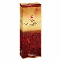 Set Of 6 Oodh Sandalwood 20 Incense Sticks Each For Meditation Yoga Free... - $14.46