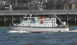 NYC Environmental Protection Boat 13 x 19 Unmatted Photograph - $35.00