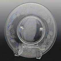 Tiffin Fuchsia Elegant Glass Plate Luncheon Plates a set of 8 image 11