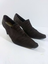 Liz Claiborne Women Brown Mules Size: 10 Made In China - $29.69