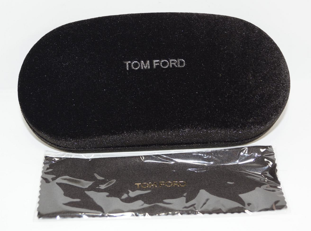 73e78c3cff74 57. 57. NEW AUTH TOM FORD VELVET BLACK SUNGLASSES EYEGLASSES HARD CASE W  CLEANING CLOTH  NEW AUTH TOM FORD VELVET BLACK SUNGLASSES ...