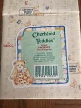 Cherished Teddies Bear Figurine Prudence 1993 A Friend To Be Thankful For 912808 - $18.69