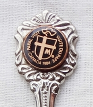 Collector Souvenir Spoon Pope John Paul II Papal Visit to Canada 1984 - $4.99