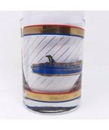 Carnival Cruise Line The Fun Ship Sensation Glass Bar Glass Low Ball - $13.98