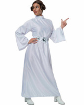 NEW Rubie's Star Wars A New Hope Deluxe Princess Leia Costume,White,One ... - $23.83