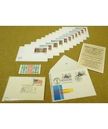 USPS Scott 2036 UX117 UX121 First Day Issue Postal Cards Lot of 14 - $20.44