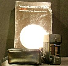 Vivitar Electronic Flash 292 with carrying case AA-192040 Vintage image 6