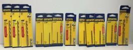 """(New) Irwin Titanium 1/4"""", 3/16"""", 1/16"""", 3/32"""", 5/32"""", 9/32"""" Drill Bit Set - $58.40"""