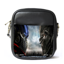 Sling Bag Leather Shoulder Bag Transformers Logo Battle Autobot Machine ... - $14.00