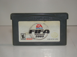 Nintendo GAMEBOY ADVANCE - EA SPORTS FIFA SOCCER 2003 (Game Only) - $10.00