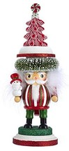 "B&Y Kurt Adler 11"" Hollywood Nutcracker with A Peppermint Tree Hat HA0451 - $83.28"