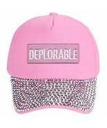 Deplorable Hat - Adjustable Womens Cap Funny Pro Trump 2016 2020 (Pink R... - $19.75