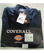 Dickies Long Sleeve Coveralls 48799 Dark Navy - $41.99