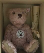 Steiff Teddy bear MASAKO, ROSE '25 1994/95 Japan limited 1500 Rare used - $1,941.38