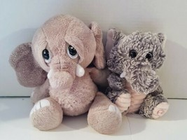 Lot Of 2 Stuffed Elephants. Ganz & KellyToy - $10.00