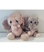 Lot Of 2 Stuffed Elephants. Ganz & KellyToy - $10.00