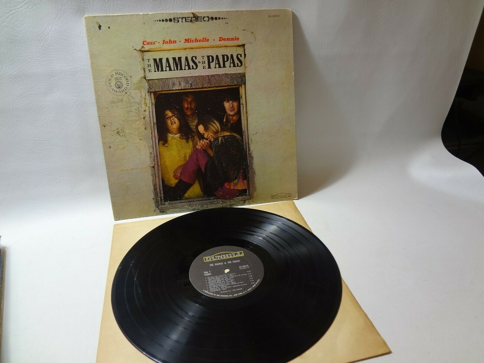 The Mamas and the Papas DS-50010 Vintage Vinyl Record 1966 LP Self Titled