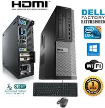 Dell Pc Desktop Intel i7 2600 3.40g 16GB New 1TB Ssd Windows 10 Pro Hdmi - $782.10