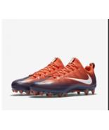 Nike Vapor Untouchable Pro Orange Navy Mens Football Cleats Soccer 83992... - $43.33