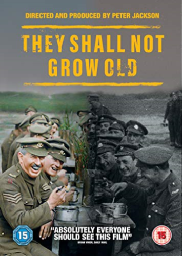 They Shall Not Grow Old [DVD New USA Region 1] Peter Jackson Film