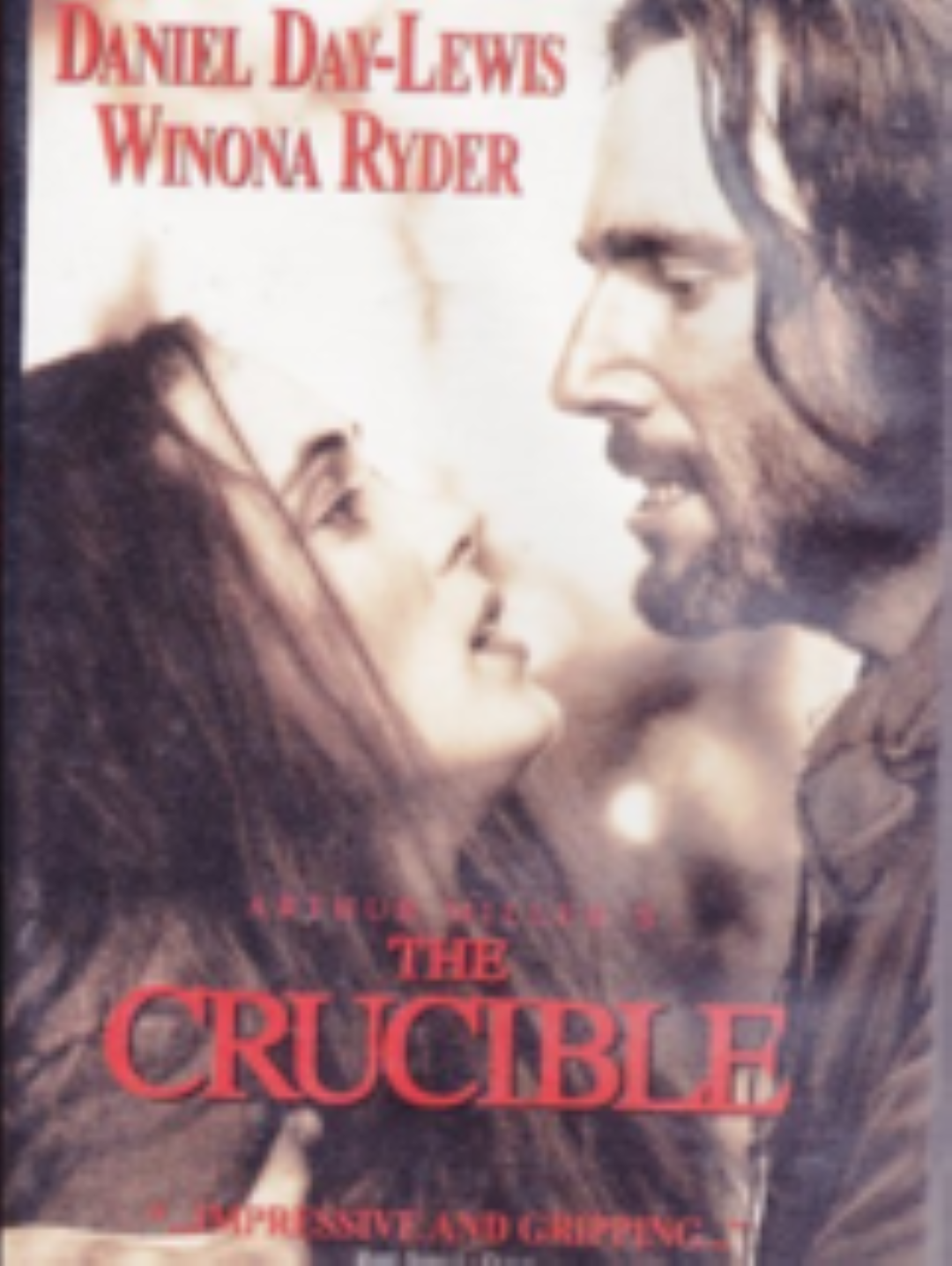 The Crucible Vhs