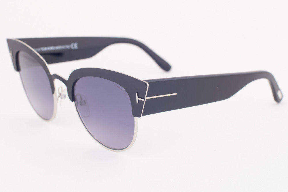 Primary image for Tom Ford ALEXANDRA Black / Gray Gradient Sunglasses TF607-05C ALEXANDRA-02