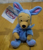 Disney EASTER WINNIE THE POOH IN BLUE BUNNY COSTUME Plush Stuffed Animal... - $14.85