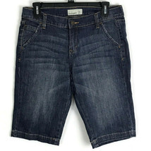 Old Navy Womens Shorts Size 6 Medium Wash Bermuda Shorts Stretch Fabric ... - $16.40