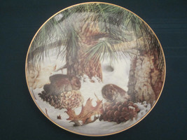 PINE VOLES Collector Plate GEOFF MOWERY December COUNTRY DIARY Franklin ... - $20.00