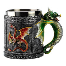 maimon Double Wall Stainless Steel 3D Skull Fly Mug Coffee - $37.95