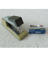 Vintage 90s Bostitch Stapler Model B400 Top Loading Partial Box Staples ... - $29.65