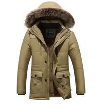 XIYOUNIAO winter jacket Middle age Men Plus thick warm coat jacket men's... - $84.58